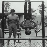 Franco Columbu at Muscle Beach in Venice California
